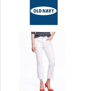 Old Navy Flare Crop Jeans